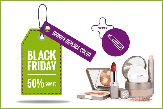 Black friday Bionike - settembre 2017